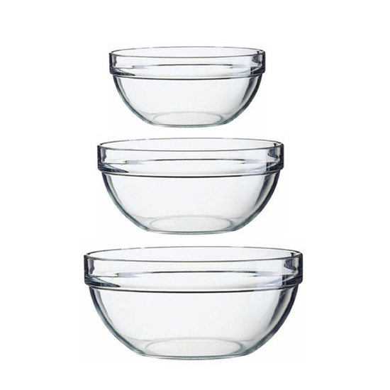 صورة Luminarc - Stackable Bowls Set of 3 (17- 20 -23 cm)
