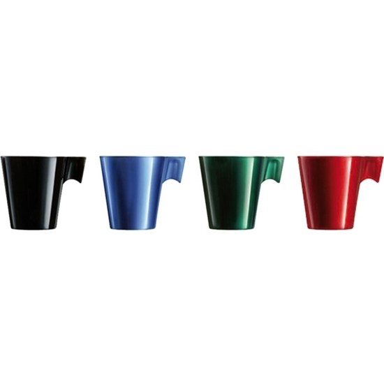 صورة Luminarc - Series Flashy Espresso Cup Set of 4 - 8 CL