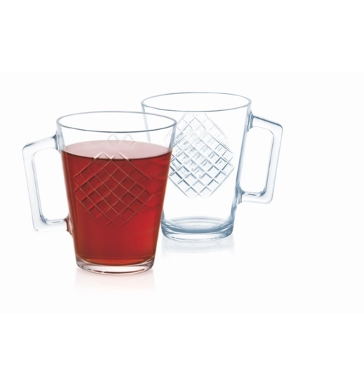Picture of Luminarc - Karel Clear 3 Pcs Mug 25cl