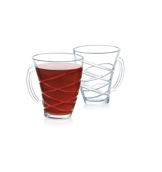 صورة Luminarc - Elanor Mug 25 cl pop - Pack of 3