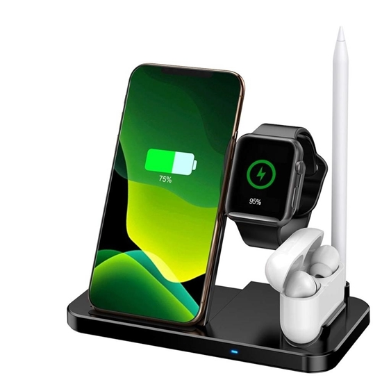 Picture of Wireless Charger Stand 4 in 1 - 18 x 16 Cm