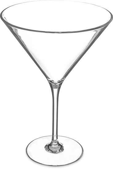 Picture of Acrylic Martini Glass - 18 x 12 Cm