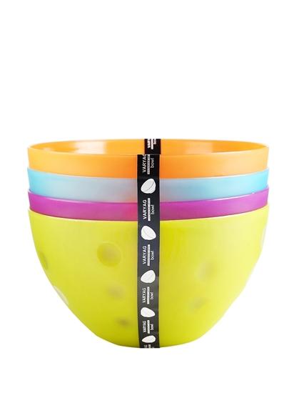 صورة Plastic Bowl, 4 PCs - 14 x 25 Cm