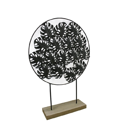 صورة Decorative Iron Leaves - 46 x 32 Cm