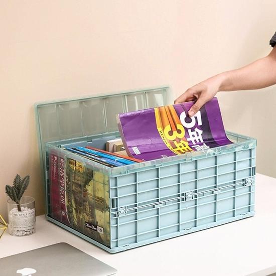 صورة Collapsible Storage Box, 1 PC - 44 x 30 x 21 Cm