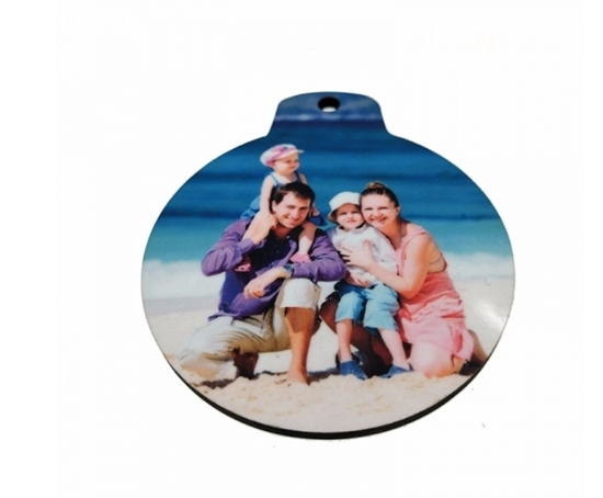 Picture of Christmas Lamp Shape Pendant - 7.3 x 6.3 Cm